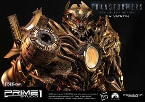 Статуэтка Золотая версия Galvatron (Трансформеры) Prime 1 Studio Трансформеры фотография-16.jpg
