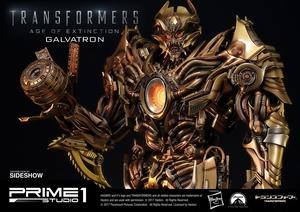 Статуэтка Золотая версия Galvatron (Трансформеры) Prime 1 Studio Трансформеры фотография-18.jpg