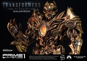 Статуэтка Золотая версия Galvatron (Трансформеры) Prime 1 Studio Трансформеры фотография-19.jpg