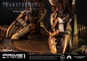 Статуэтка Золотая версия Galvatron (Трансформеры) Prime 1 Studio Трансформеры фотография-21.jpg