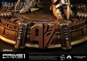 Статуэтка Золотая версия Galvatron (Трансформеры) Prime 1 Studio Трансформеры фотография-23.jpg