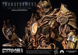Статуэтка Золотая версия Galvatron (Трансформеры) Prime 1 Studio Трансформеры фотография-24.jpg