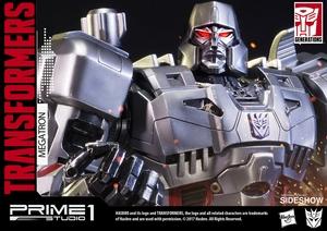 Статуэтка Мегатронные Трансформеры Поколение 1 Prime 1 Studio Трансформеры фотография-15.jpg