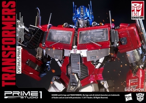 Статуэтка Оптимус Прайм Трансформеры Поколение 1 Prime 1 Studio Трансформеры фотография-12.jpg