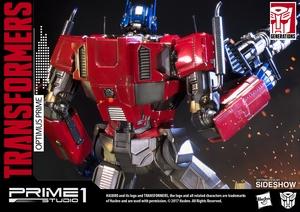 Статуэтка Оптимус Прайм Трансформеры Поколение 1 Prime 1 Studio Трансформеры фотография-16.jpg