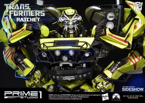 Фигурка из искусственного камня Рэтчет Prime 1 Studio Трансформеры фотография-02.jpg